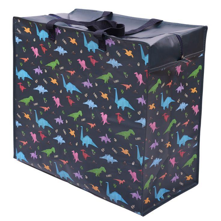 Fun Practical Laundry  and  Storage Bag - Dinosaur Design