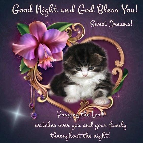 Good Night And God Bless You! Sweet Dreams!