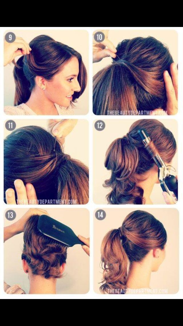 Pretty! Would love to do this when my hair finally decides to grow out again.