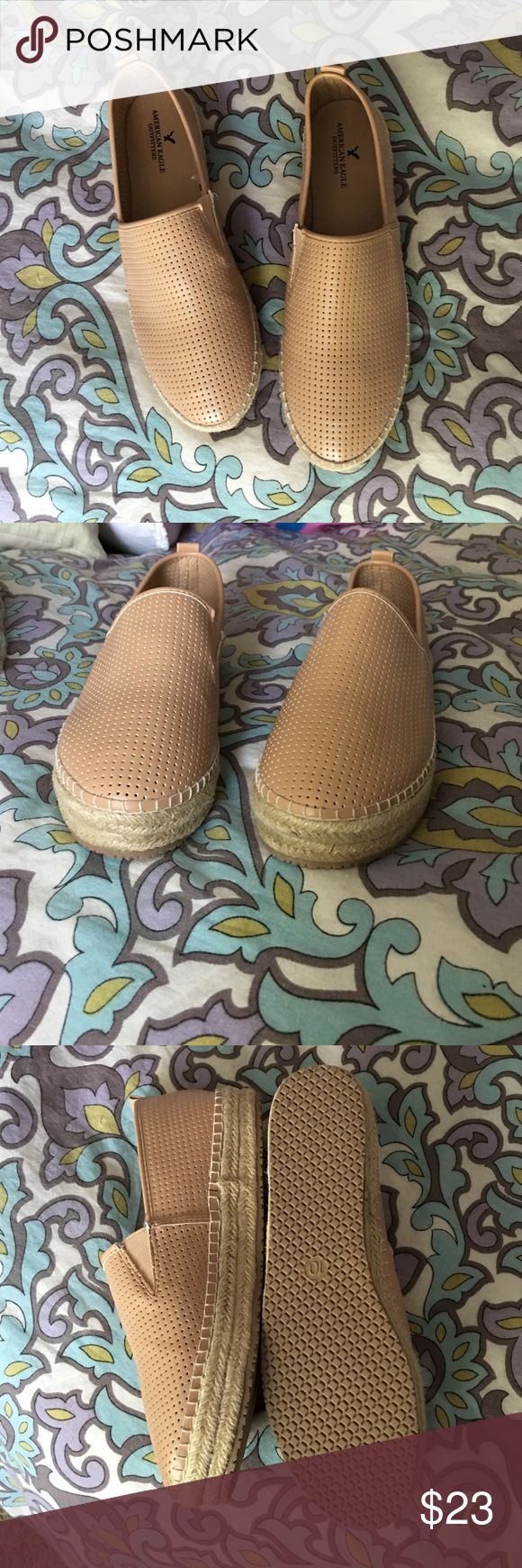 Brand new espadrilles Nudish pink espadrilles, brand new, never worn, size 10 from American Eagle Oitfitters American Eagle Outfitters Shoes Espadrilles