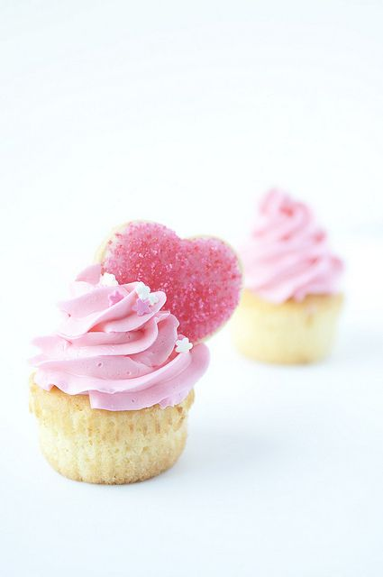 Adorable cupcakes for Valentine's Day