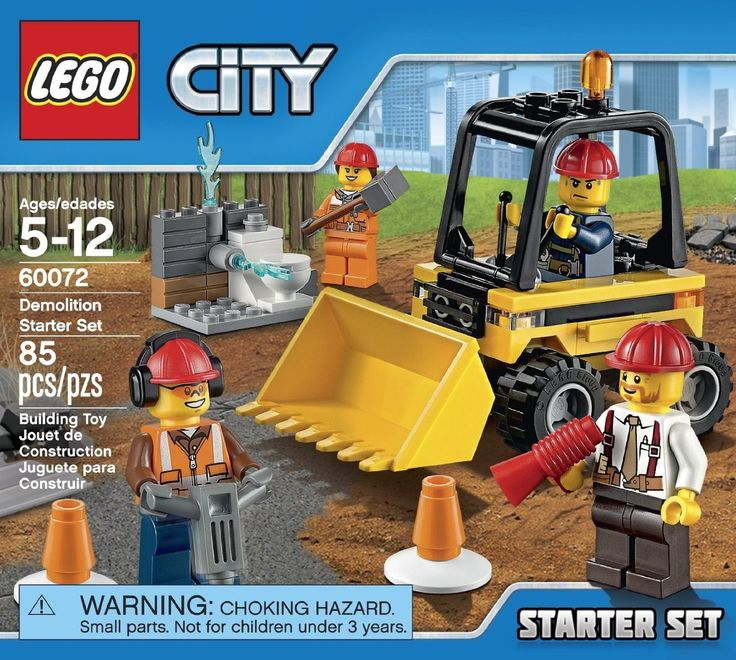 LEGO City Demolition Starter Set 60072 - Discount Toys USA