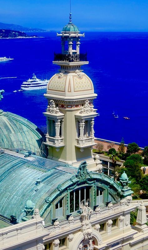 There is no place more glamorous than Monte Carlo on the French Riviera. (Even though Monte Carlo is in Monaco, not France.)