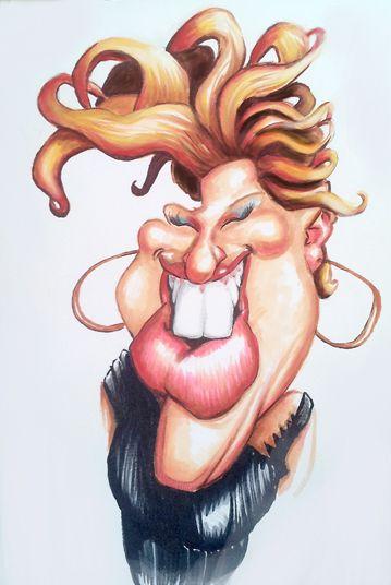 Bette Midler by DoodleArtStudios.deviantart.com on ... Charlize Theron