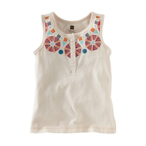 A tank top says the warm weather has arrived and here to stay! #TeaSummer