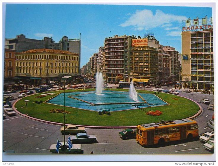 Omonoia square in the 1970's