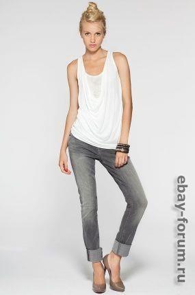 Guess джинсы стразы пояс