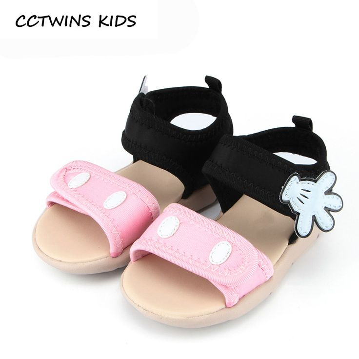 CCTWINS KIDS 2017 Summer Kid Cotton Red Children Fashion Black Shoe Toddler Beach Brand Baby Girl Pink Mickey Sandal B671 //Price: €28.7 & FREE Shipping //   #fashion #baby #clothes #trendy #2017