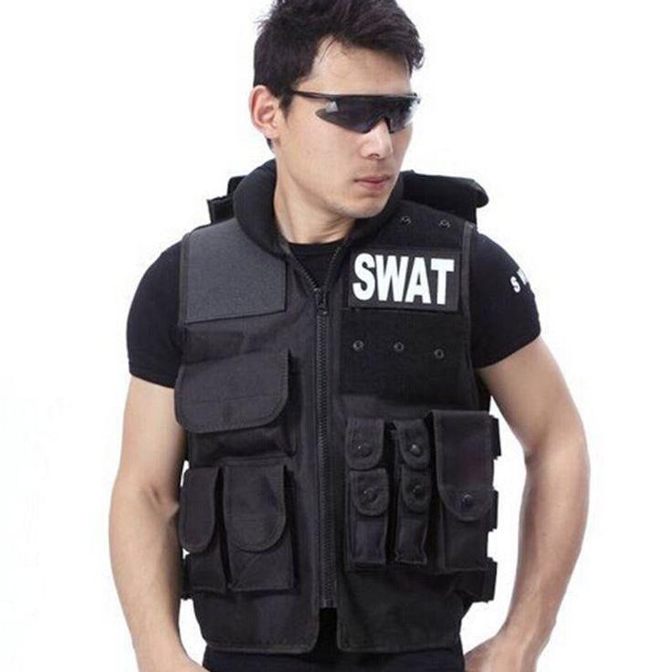 Airsoft Tactical Vest Swat Type Modular Tactical Combat Vest Military Tactical Gear CS Field Equipment Swat Protective Equipment