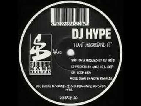 Dj Hype - I can't understand it. Uk breakbeat/drum & bass from the past. Dj Hype made some wicked tunes and this is one of them. This artist is still active in the scene and can be described as (one of) the most populair drum & bass dj of the world