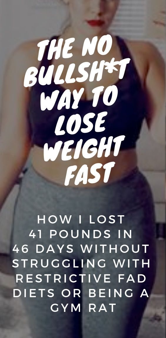 The Seriously Simple Way To Lose Weight Rapidly And For Good Follow