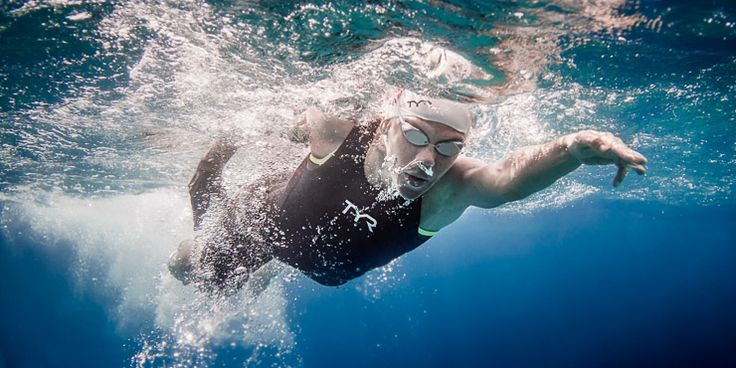 The Best Swim Technique for Open Water  #triathlon #ironmantri #swimbikerun