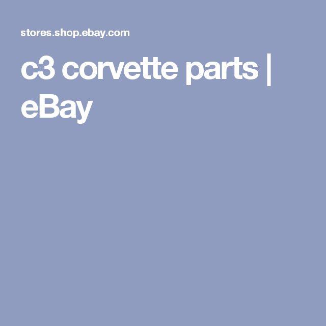 c3 corvette parts | eBay