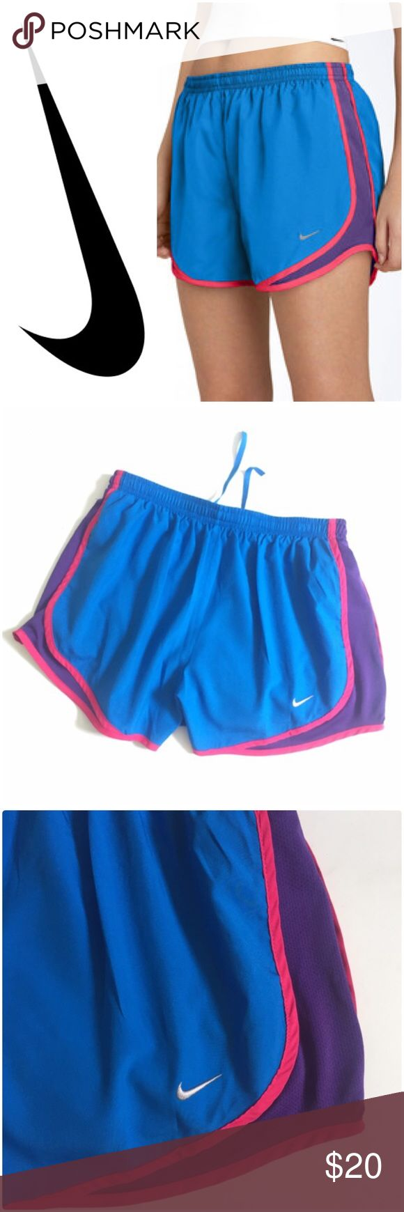 Nike Tempo Track Shorts Nike Tempo Track Shorts Photo Blue/Club Purple in Good Preowned Condition. Nike Shorts
