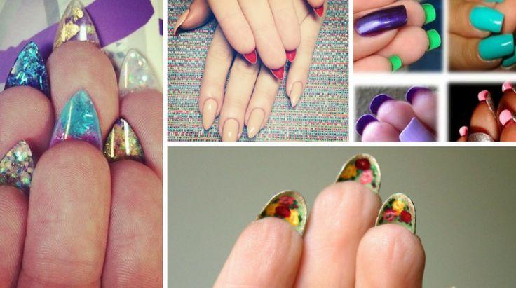 Flip-side: Nova tendência em unhas decoradas