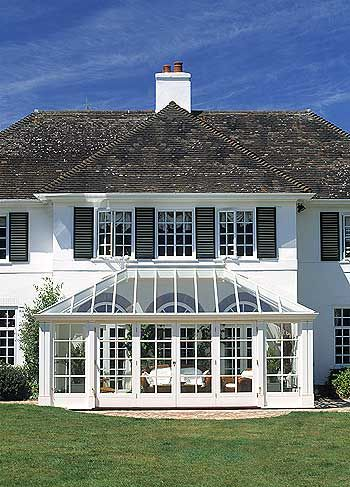 glass entry-cut off at glass roof...just windows and doors