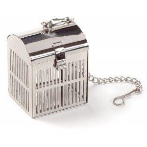 Calandre tea strainer, silver*