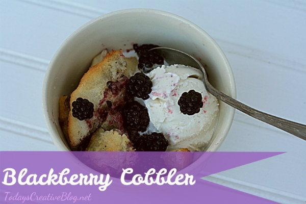 blackberry cobbler recipe - today's creative blogBlackberries Cobbler, Creative Blog, Cobbler Recipes, Blackberries Recipes, Yummy Food, Sweets Treats, Food Yummy, Favorite Recipe, Today Creative