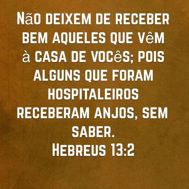 Hebreus 13:2