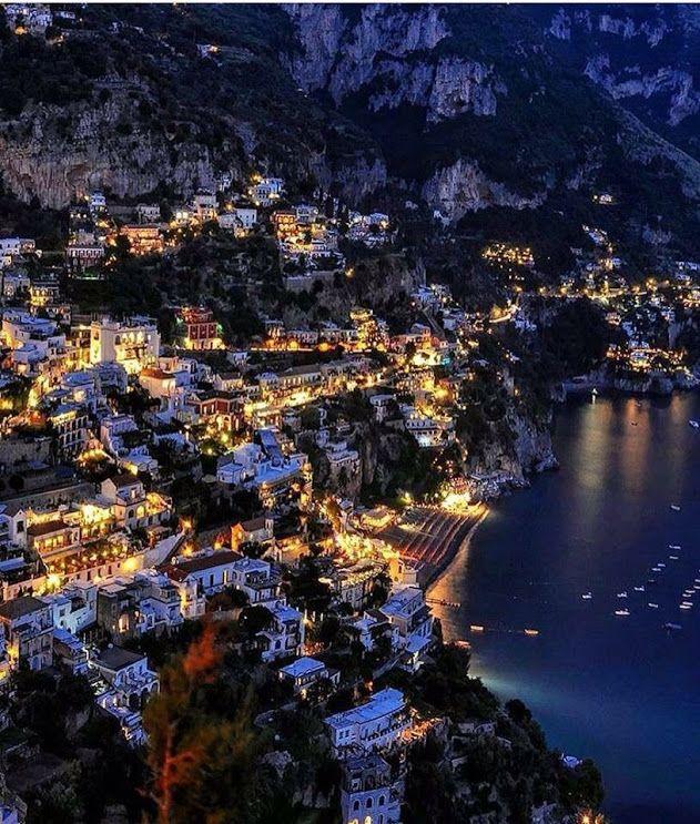 Амальфитанское побережье, Италия.