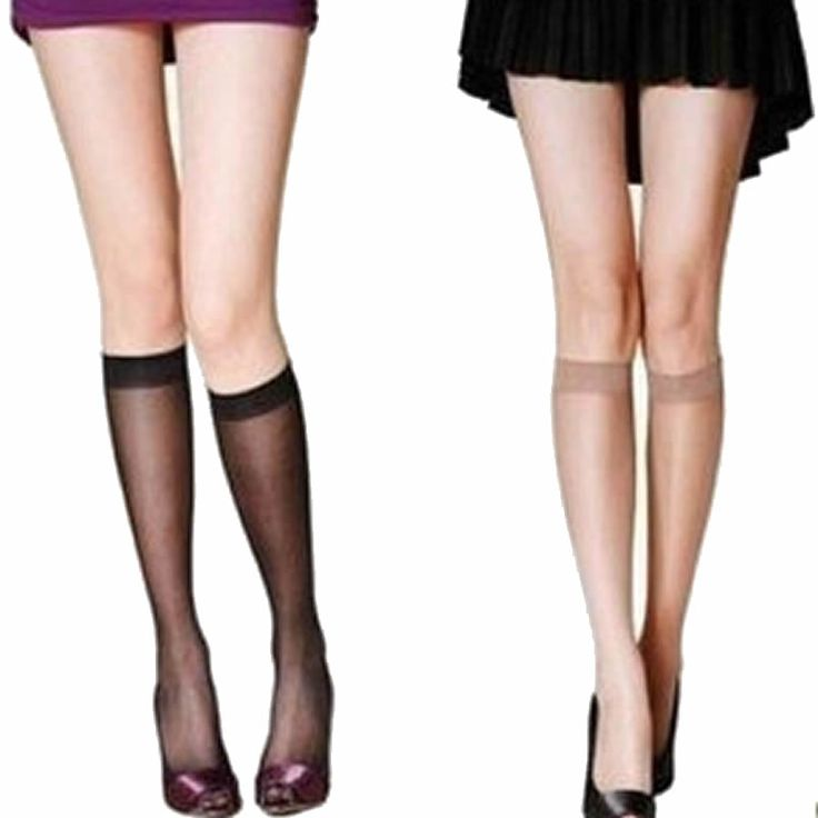 Women Summer Sexy Black Nude Nylon Stockings Cheap Short Stockings Long Stocking Hot Sale