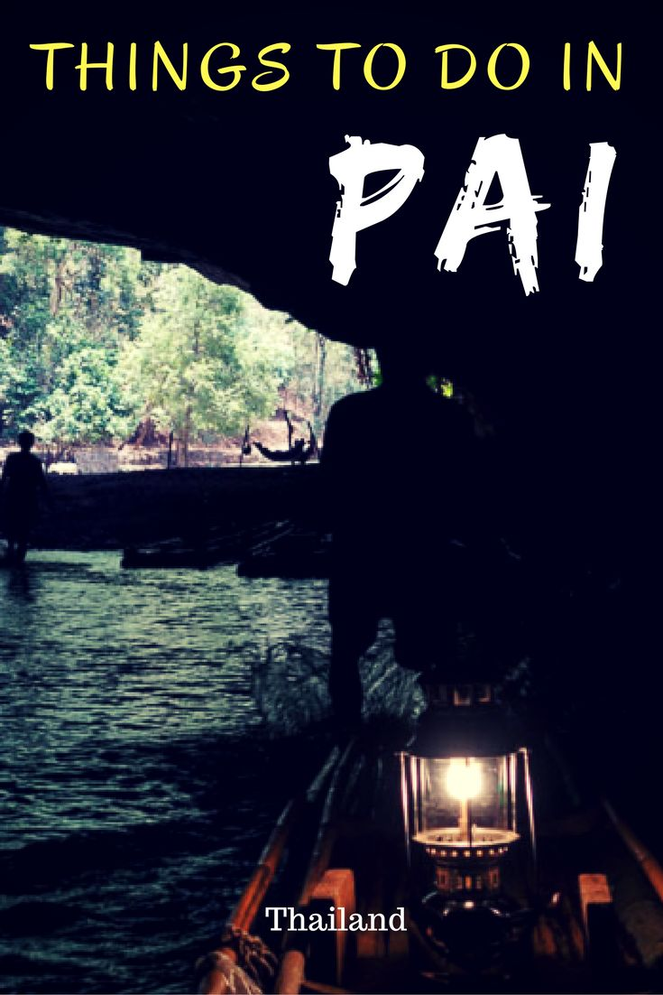 Don't miss Pai off you list of places to visit in Thailand. Here is a list of the best things to do in Pai. Happy exploring. #Thailand #southeastasia