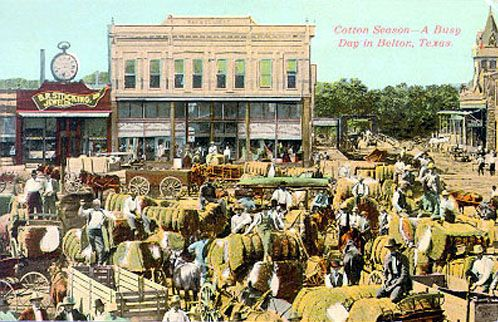 Belton, Texas vintage postcard