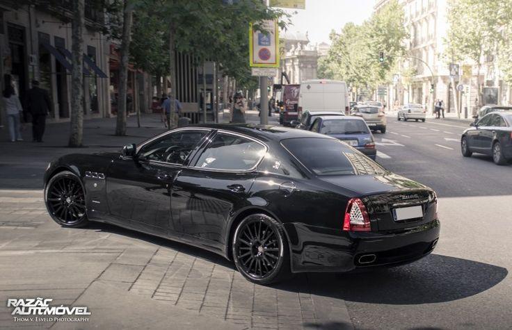 Maserati Quattroporte GTS   Madrid, Espanha   Car Spotting http://www.razaoautomovel.com/spotting/maserati-quattroporte-gts