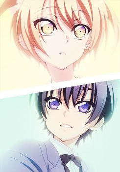 Love Stage!! ~ Little Izumi and Ryouma ^-^
