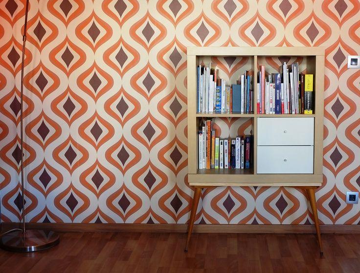 un meuble tagre annes 70 avec kallax - Customiser Un Meuble Ikea