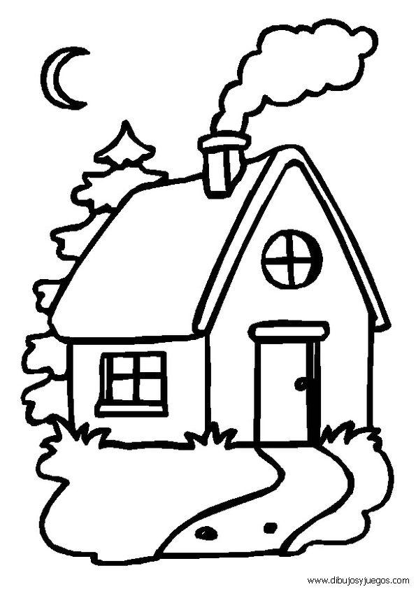 Mejores 34 imgenes de dibujo de casas y calles en Pinterest