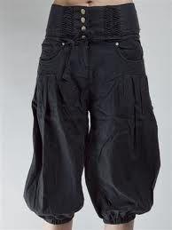 VESTE DEL CONTADINO - Pantaloni da lavoro color blu notte, con ampie tasche laterali.