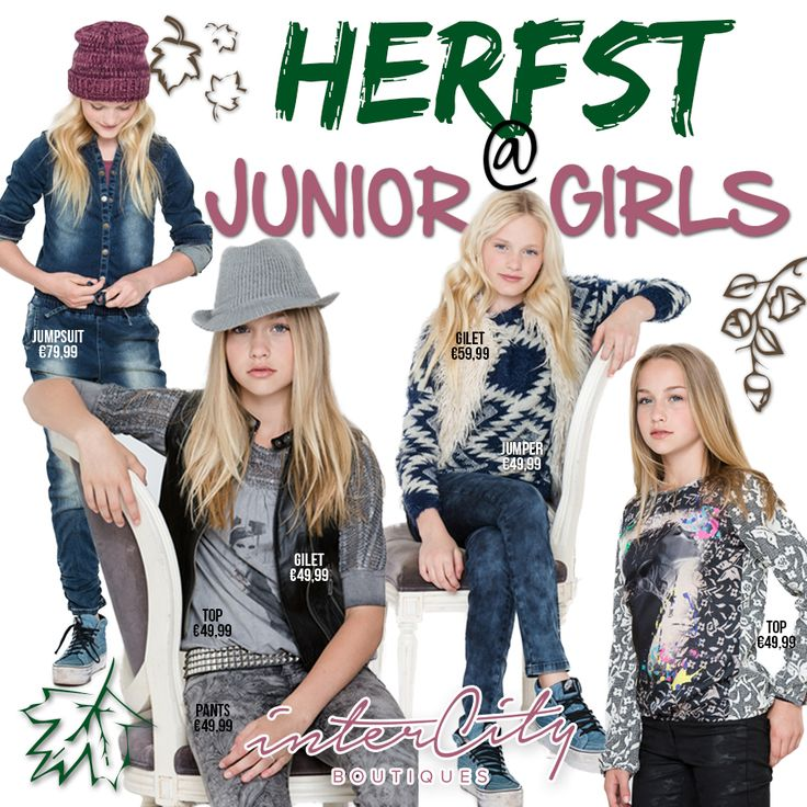 Intercity Boutiques: 'Herfst @ junior girls'