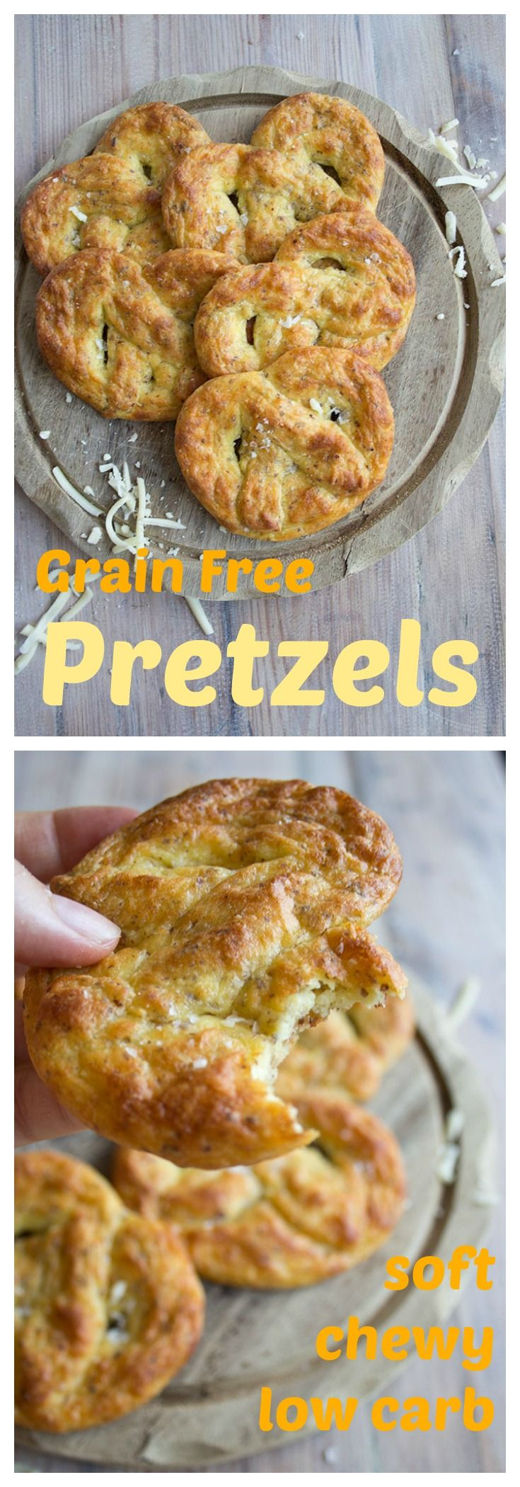 Soft and simply irresistible: low carb, grain free pretzels take snacking to the next level.