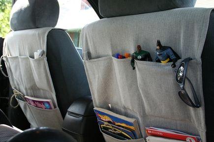 Car organizer tutorial