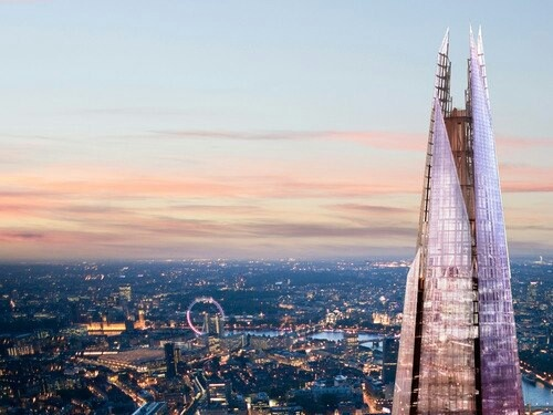 Shard observation deck in London