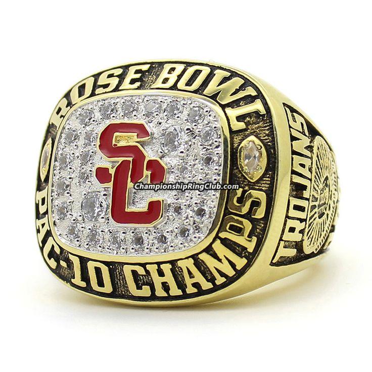 USC Trojans 1996 NCAA Rose Bowl Championship Ring - ChampionshipRingClub.com