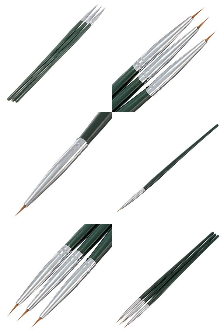 [Visit to Buy] 3Pcs Acrylic  Painting Drawing Dotting Nail Art Salon  Brush  Tips Liner  Pens Set DIY Decorations Chic Design 5GNJ #Advertisement