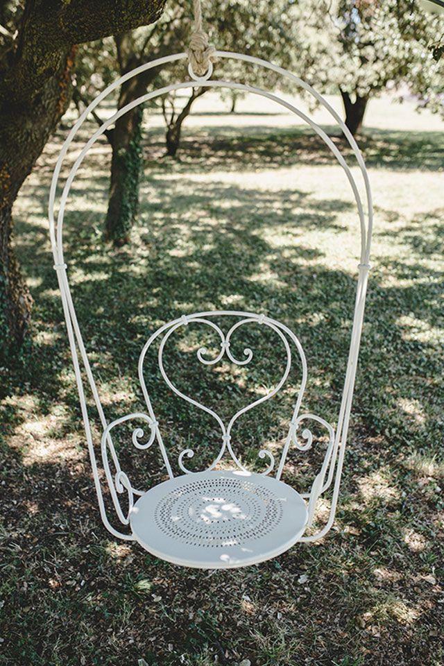 Cute Fermob Gartenschaukel Romantische Schaukel f r den Garten H ngesessel im romantischen Stil
