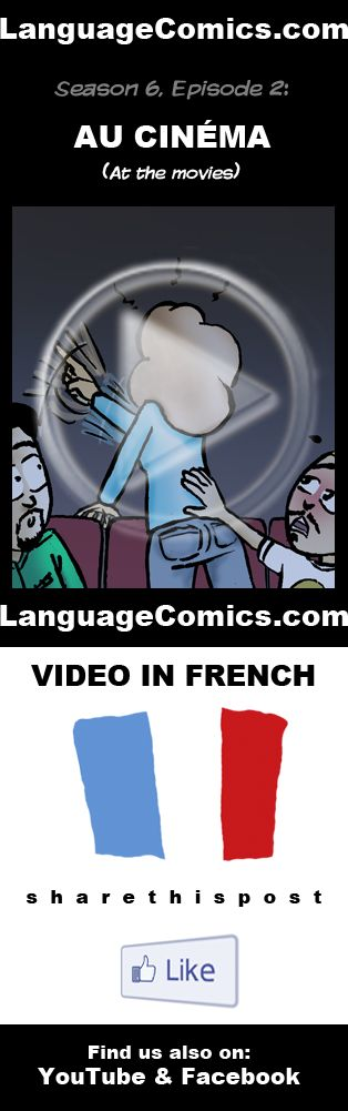 Practice your pronunciation and learn #French with this episode and many more. Enjoy and share! https://www.youtube.com/watch?v=Vy7V-_nHdPo --------------------------------------------- Also find us on http://www.Facebook.com/LanguageComics - - - http://www.YouTube.com/LanguageComicsTeam - - - http://www.Instagram.com/LanguageComics_