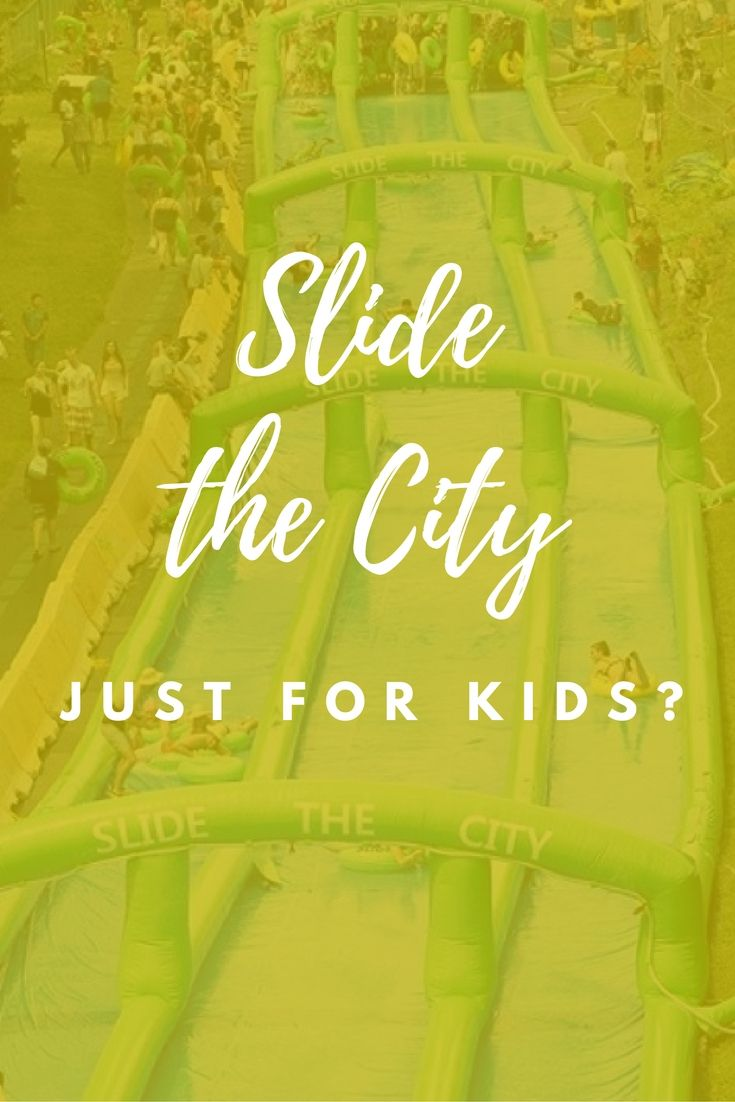 Slide the City is a unique organization that travels around the United States, setting up a 1,000-foot slip 'n' slide on a street right in the middle of your city. It may sound like an activity meant for kids but Slide the City is designed for people of all ages. So grab your tube and get ready to have some fun in the sun! Click through for details on locations and tickets or save this pin for later.