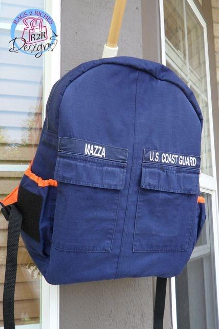 Hero Backpack- Coast Guard ODU Backpack!