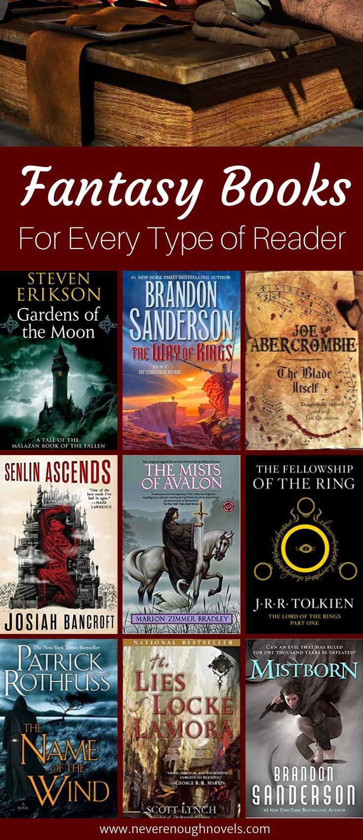 11 Fantasy Book Recommendations Never Enough Novels Fantasy Books Epic Fantasy Books Fantasy Books To Read