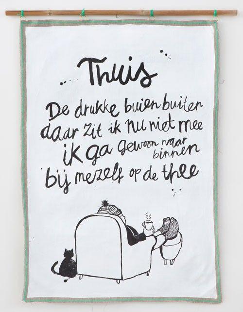 #Doek #Thuis | Nu Online (!) te bestellen :-) | Atelier Sukha (@Rafael Cepeda Amsterdam) Webshop