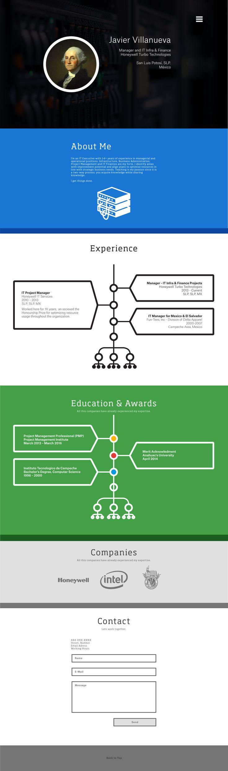 Personal Branding Mockup, reflejamos interactividad con las líneas del tiempo.  Personal Branding Mockup, we play with the interactive time lines.