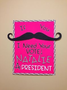 Image result for vintage student council campaign posters