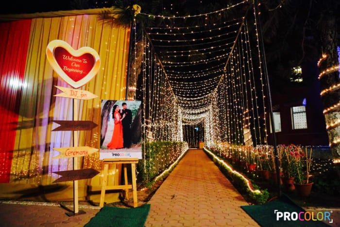 Decoration Ideas - The Grand Decoration! Photos, Punjabi Culture, Beige Color, Decoration, Wedding, Couple Photographs pictures, images, Vendor credits - WeddingPlz