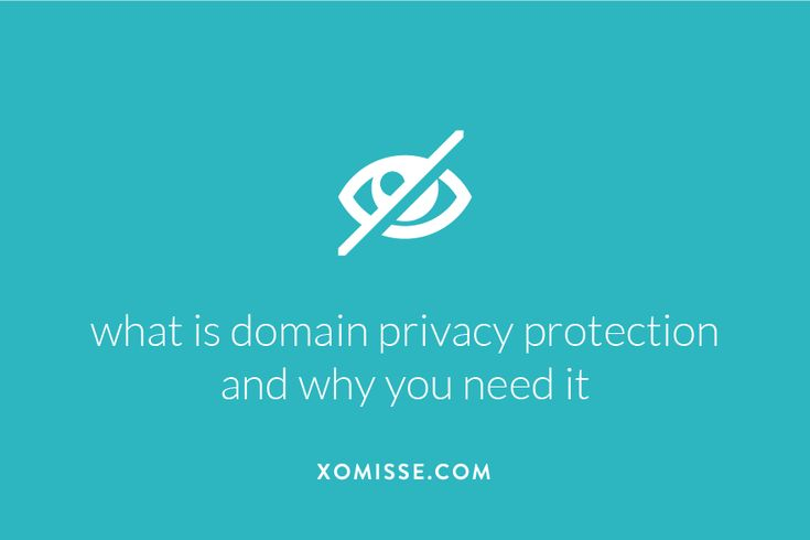 What is domain privacy protection and why you need it