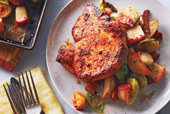 Sweet and Smoky Pork Chop Dinner recipe - Canadian Living