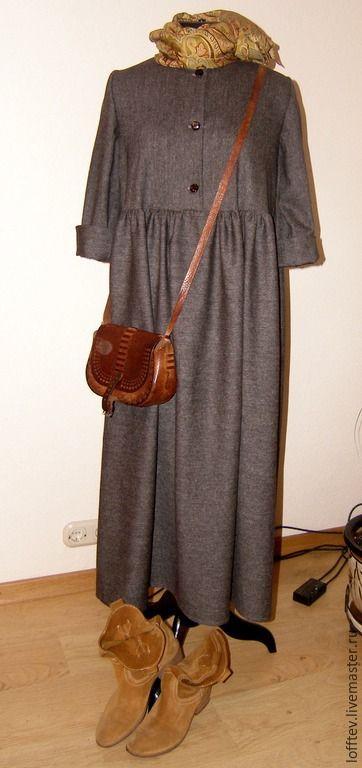 Купить Платье БОХО шерстяное - коричневый, бохо, бохо-стиль, шерсть, шерстяное платье, комфорт